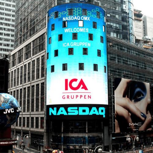 ICA Gruppen, börsnotering, Box Communications,