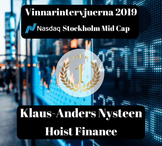 Vinnare, intervju, Klaus-Anders Nysteen, Hoist Finance