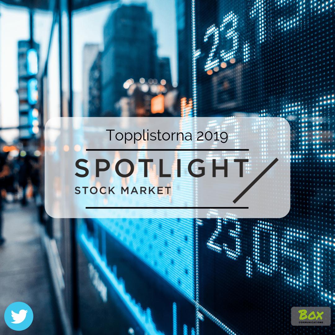 Börs-vd:ar på Twitter, Spotlight Stock Market, Social IR, Investor Relations,